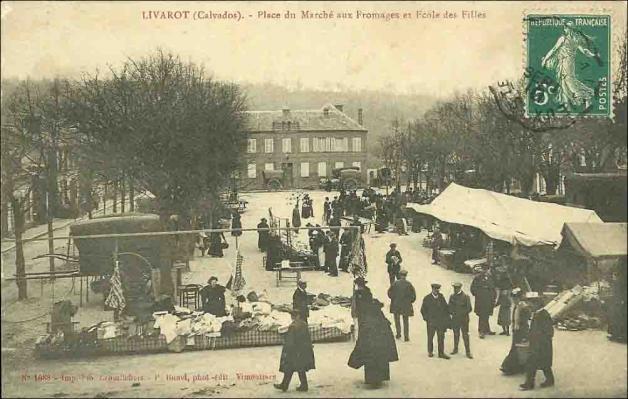 14-Livarot (Marché-fr1nv)