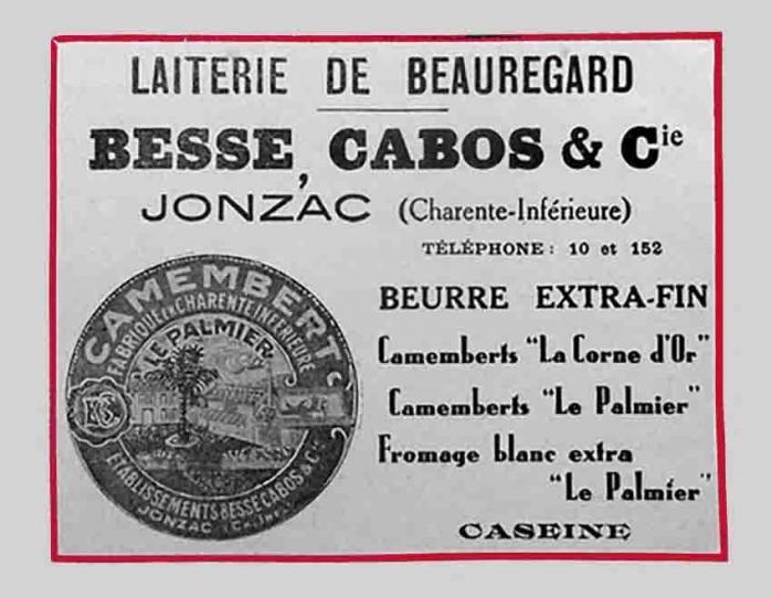 17-Jonzac Besse Augustin Publicité