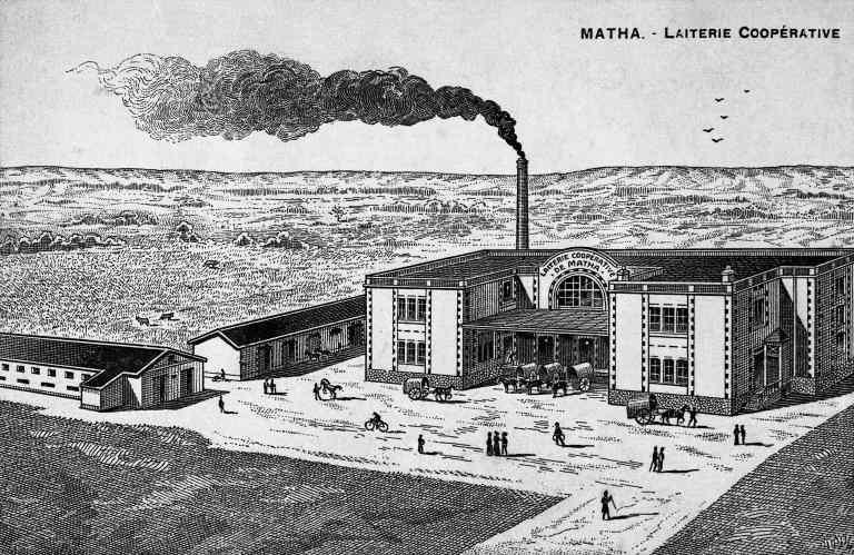 17-Matha (bâtiments de laiterie en 1888)