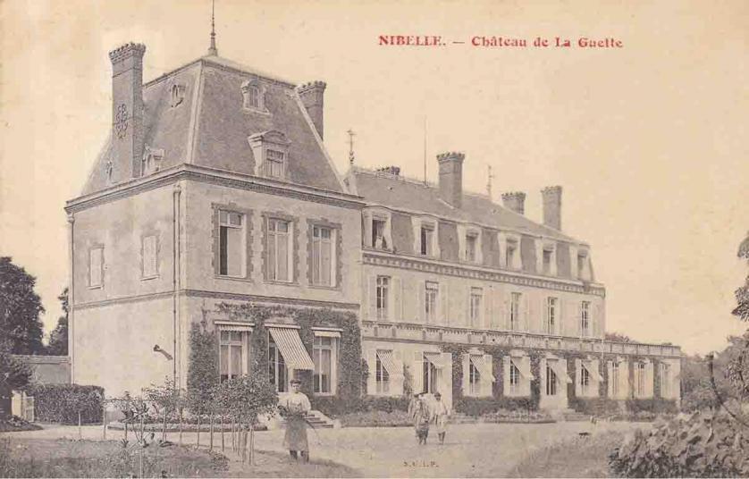 45 Nibelle le château de la guette (Leveillé-Nizerolle)