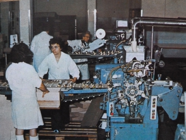 Baignes beurre fabrication