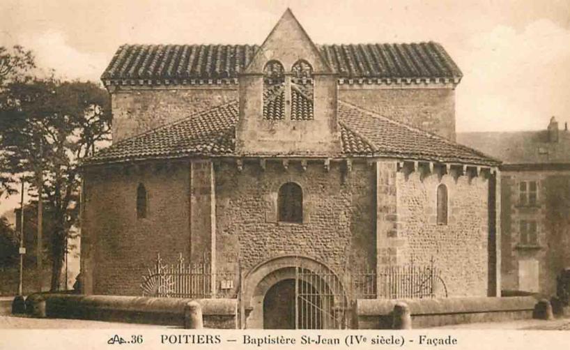 Baptistère saint jean Poitiers