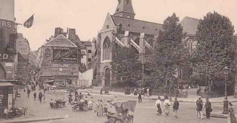 Bornibus moutarde (Eglise St-Médard)