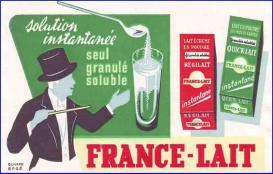 Buvard-01 france-lait