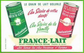 Buvard-03 france-lait