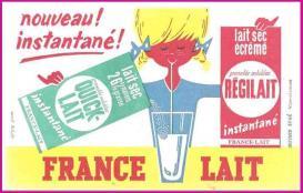 Buvard-05 france-lait