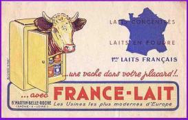 Buvard-07 france-lait