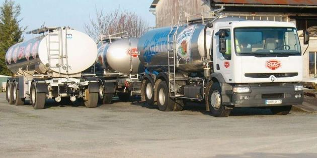 Camions laiterie de chadenac