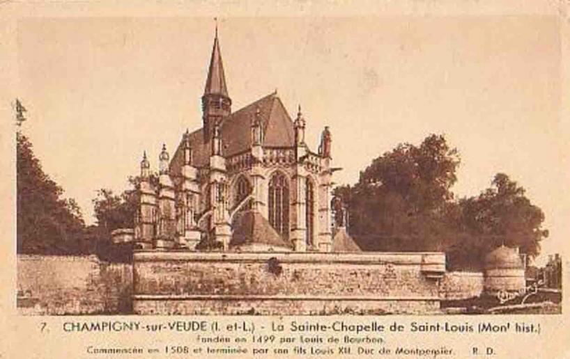 Chapelle Saint-Louis (Champigny)