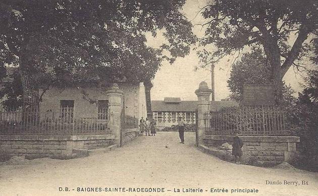 CP-Baignes-Entrée-principale
