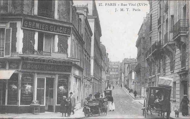 Cremerie paris 16 (angle rue de Laroche et Vital nv)