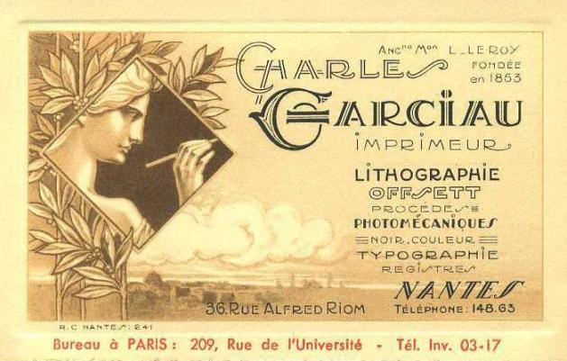 Garciau imprime