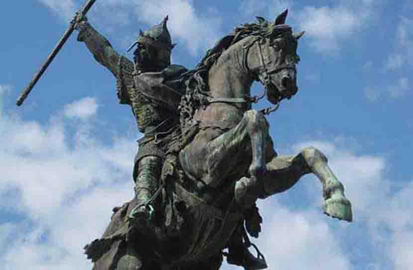 Guillaume le conquerant statue equestre