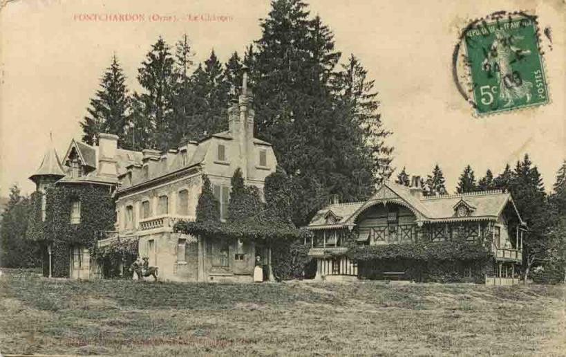 Pontchardon (le château-1)