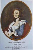Portrait de Marie Joly