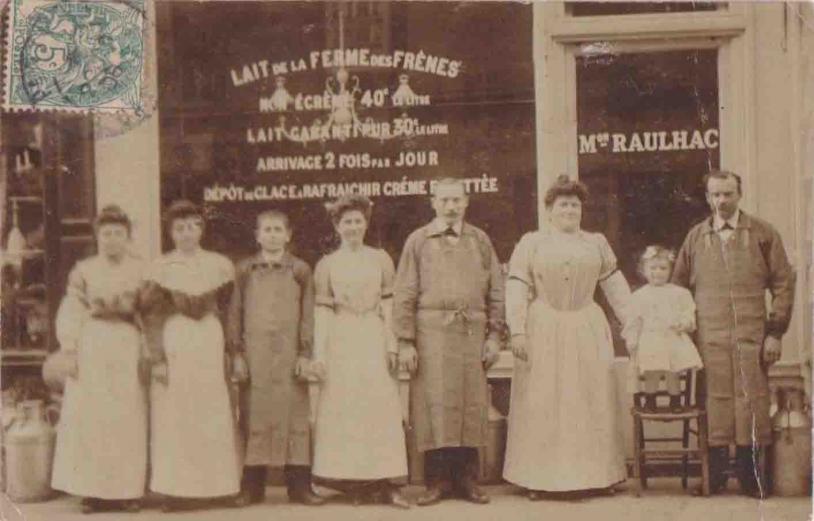 Raulhac 75nv (crèmerie 31, rue Duret de 1906)
