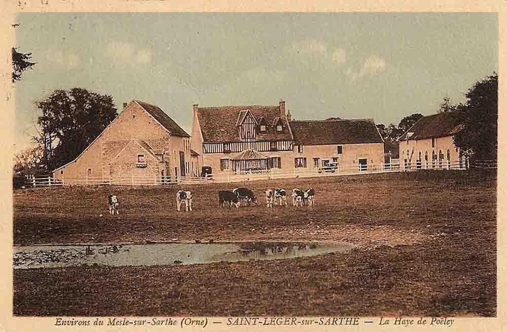 Saint-Léger-sur-Sarthe vers 1930