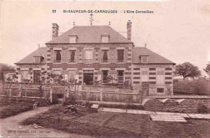 Saint-Sauveur-de-Carrouges l'être Corneillet 1909