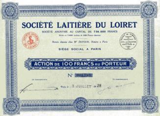 Societe laitiere du loiret