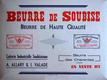 Soubise (laiterie Allary Valade)